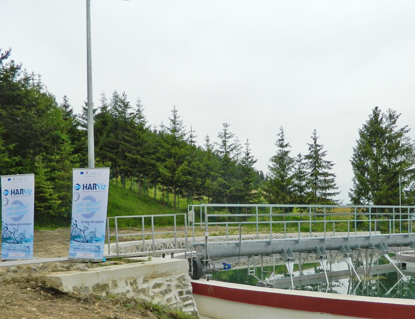 HARVIZ S.A. - Waste water treatment plants